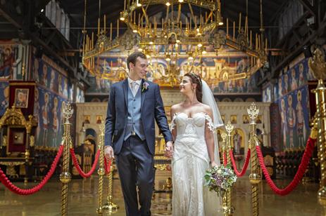 Hochzeit in Wien orthodoxe